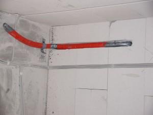 Vorbereitung frostfreier Außenwasseranschluss
